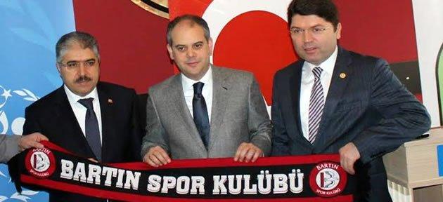 Tunç'tan Bartınspor'a Müjde