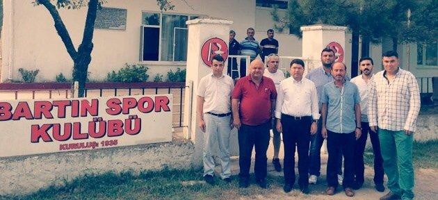 Tunç'tan Bartınspor'a Ziyaret