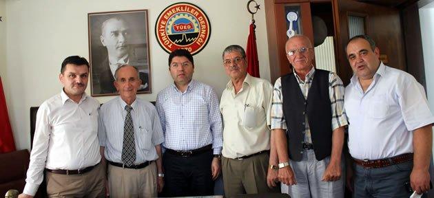 Tunç'tan Emekliler Derneği'ne Ziyaret