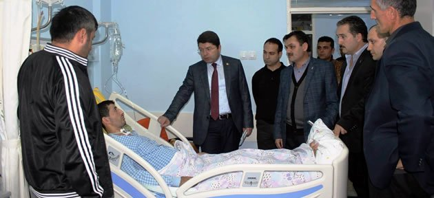 Tunç'tan Hasta Ziyareti