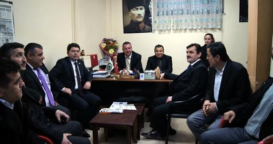 Tunç'tan Türkiye Sakatlar Derneği'ne ziyaret