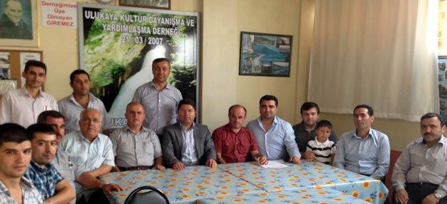 Tunç'tan Ulukayader'e Ziyaret