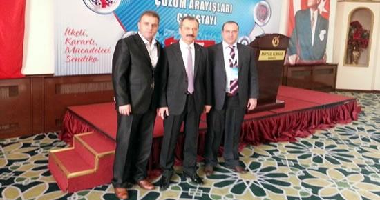 Türk Eğitim Sen Bartın şubesi Üniversite Çalıştayı'na katıldı