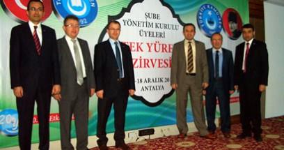 Türk Eğitim-Sen Tek Yürek Zirvesi Antalya'da yapıldı