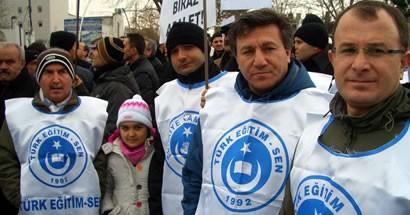 Türk Eğitim-Sen üyeleri Eşit İşe Eşit Ücret eylemine katıldı