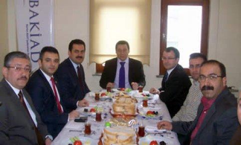 Türk Eğitim-Sen'den Bakiad'a ziyaret