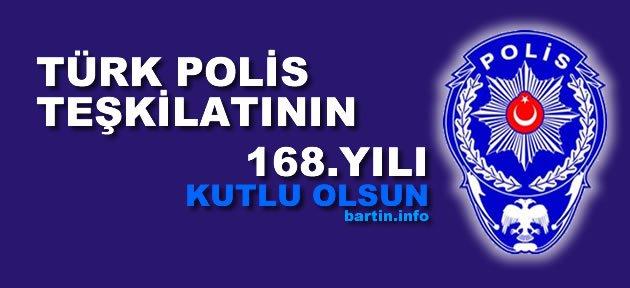 Türk Polis Teşkilatı 168 yaşında