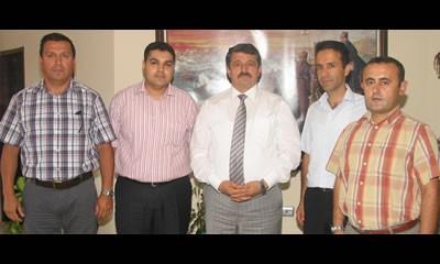 Türk Sağlık Sen'den Başkan'a ziyaret