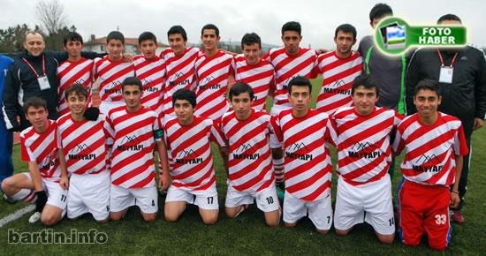 U17'de Şampiyon Bartıngençlikspor