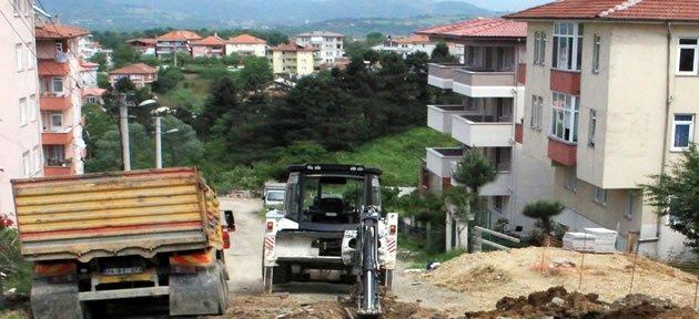 Üç Mahallede Doğalgaz Çalışması