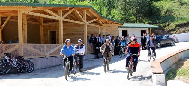 Ücretsiz Bisiklet Yolu ve Yaşam Merkezi Hizmete Açıldı