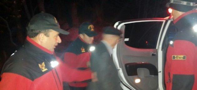 Kaybolan Şahsı Jandarma Buldu