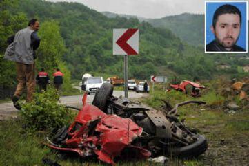 Ulus yolunda feci kaza: 2 ölü