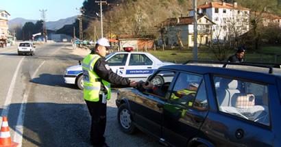 Ulus'a giriş yapan sürücüler bilgilendirildi