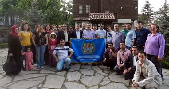 Uluslararası Polis Birliği Bartın Şubesi, İstanbul Şubesi ile buluştu