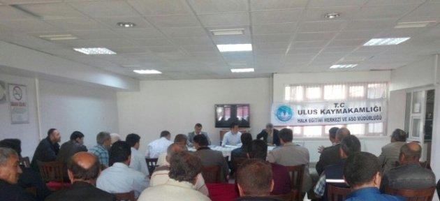 Ulus'ta 150 Kursiyer İnşaatçılık Belgelerini Aldı