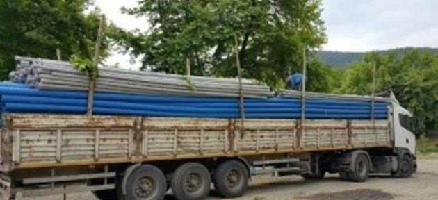 Ulus'ta Asbestli Su Boruları Değişiyor