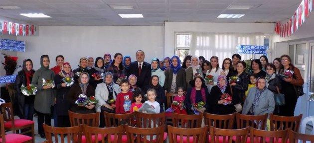 Ulus'ta Kadınlar Günü Kutlandı