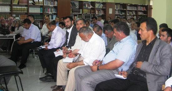 Ulus'ta yaz Kur'an kursları için seminer