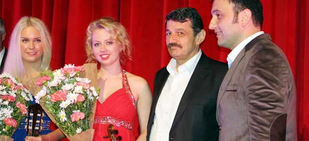 Ünlü Violinist Olga Kiveeva Bartın'da