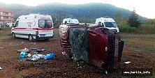 Bartın'da Feci Kaza: 1 Ölü, 4 Yaralı
