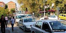 Bartın'da Trafik Felç Oldu