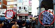 Bartın'da Laiklik Deyyusluktur Pankartı