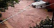 Sağanak yağmur, Bartın'da sele yol açtı