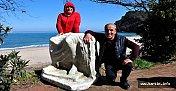 Sahilden 500 Kiloluk Tarihi Eser Çıktı