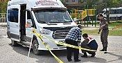 Servis Minibüsünün çarptığı öğrenci öldü