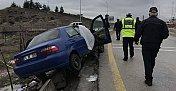 Hastane yolunda feci kaza: 1 ölü, 2 ağır yaralı