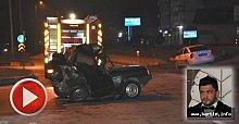 Arızalanan Otomobile Çarptı: 1 Ölü, 3 Yaralı