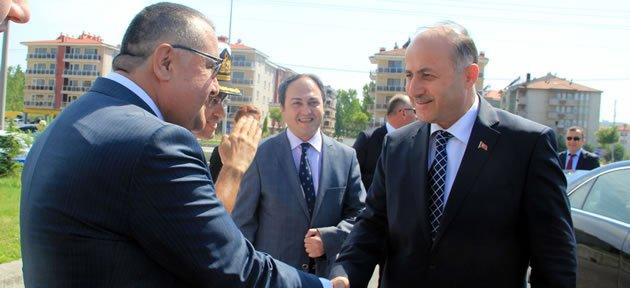 Vali Azizoğlu Bartın'da