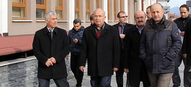 Vali Azizoğlu Okulları Yerinde İnceledi
