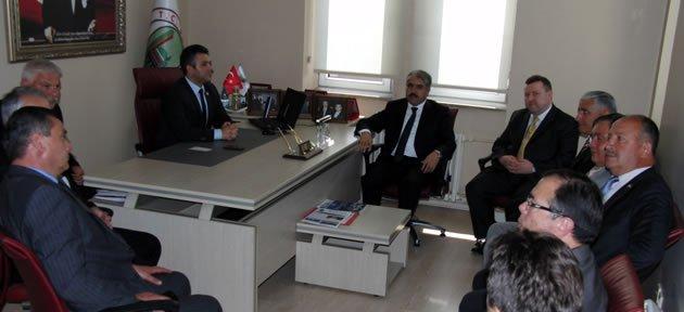 Vali Çınar Meclis'te