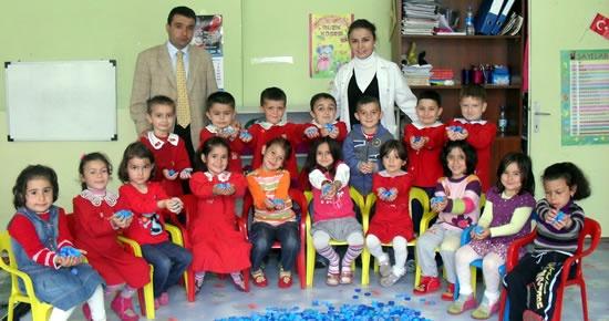 Vali Tevfik Başakar İlköğretim Okulu'ndan 5000 Plastik Kapak