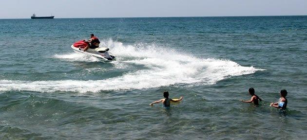 Vatandaşlara Jet Ski ve Zodyaklı Koruma