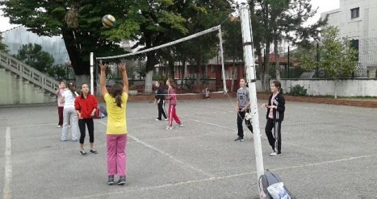 Voleybol antrenmanları