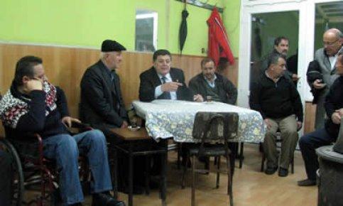 Yalçınkaya Köy ziyaretlerinde