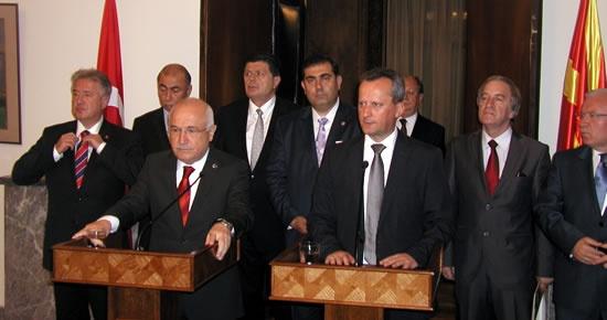 Yalçınkaya Makedonya'da