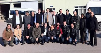 Yalçınkaya Torba Yasa ile Karayolları'na geçen personeli ziyaret etti