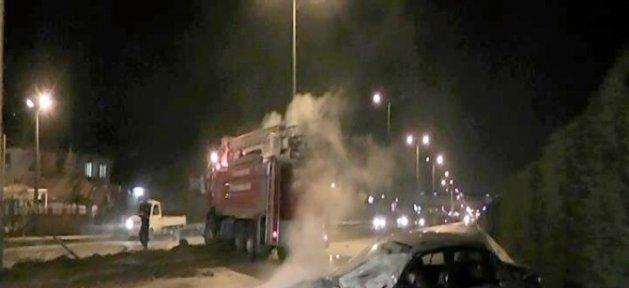 Yangına Giden İtfaiye Kaza Yaptı