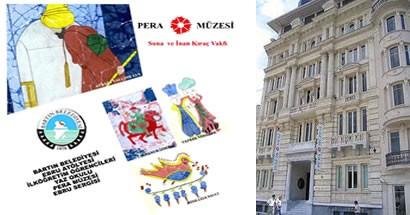 Yaz Okulu Ebru Sergisi Pera Müzesi'nde sergilenecek