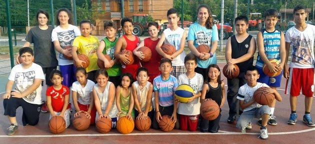 Yaz Spor Okullarına Yoğun İlgi