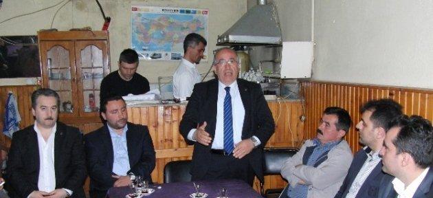 Yelkenci Köylerde Seçim Turuna Başladı