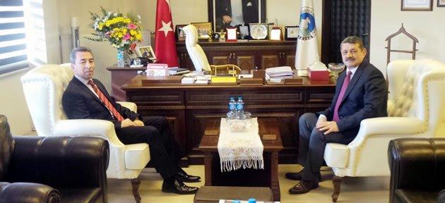 Yeni Emniyet Müdürü Aydoğdu'dan Başkan'a Ziyaret