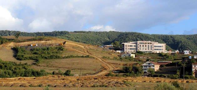 Yeni Kampüs Alanında Binalar Yükseliyor