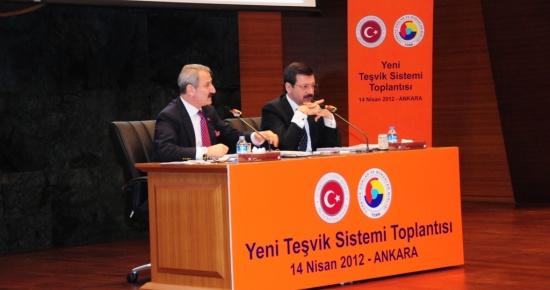 Yeni Teşvik Sistemi İle İlgili Bilgilendirme Toplantısı Ankara'da yapıldı