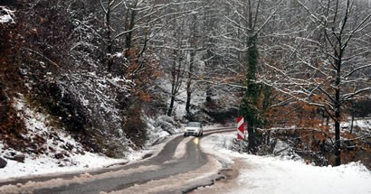 Yılın ilk karı düştü