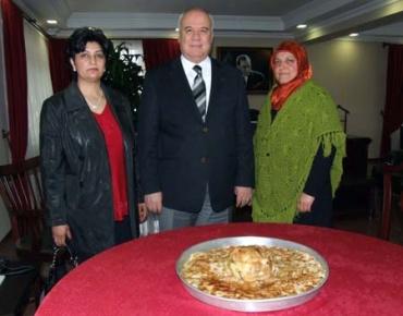 Yöresel ev yemekleri yarışmasına ambargo